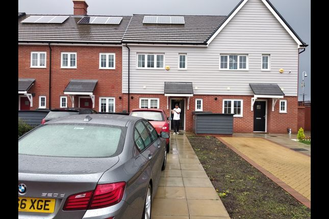 Thumbnail Terraced house to rent in Clovelly Spur, Slough