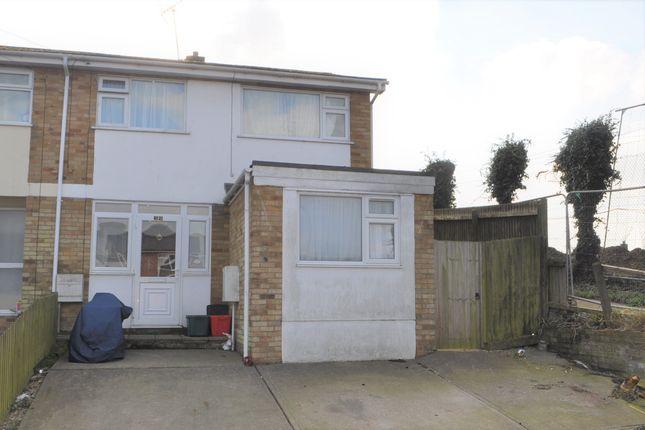 Thumbnail End terrace house for sale in Dockfield Avenue, Harwich