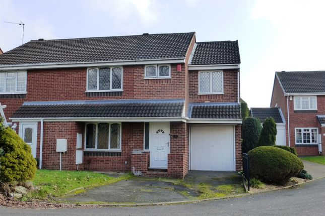 Thumbnail Semi-detached house for sale in Newhall Farm Close, Sutton Coldfield