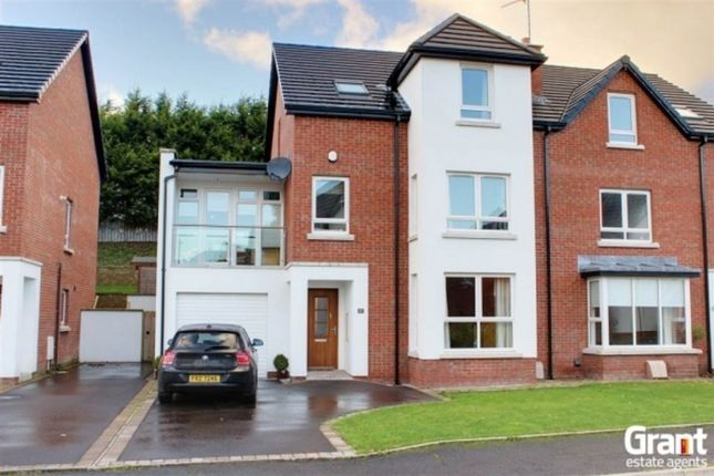 Thumbnail Semi-detached house for sale in Lakeview Manor, Newtownards