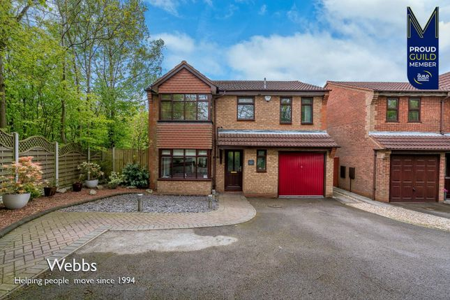 4 bed detached house for sale in Shirehall Place, Cannock WS11