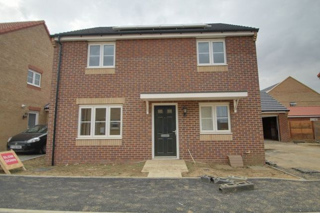 Thumbnail Detached house for sale in The Rippon, Eastrea Road, Whittlesey