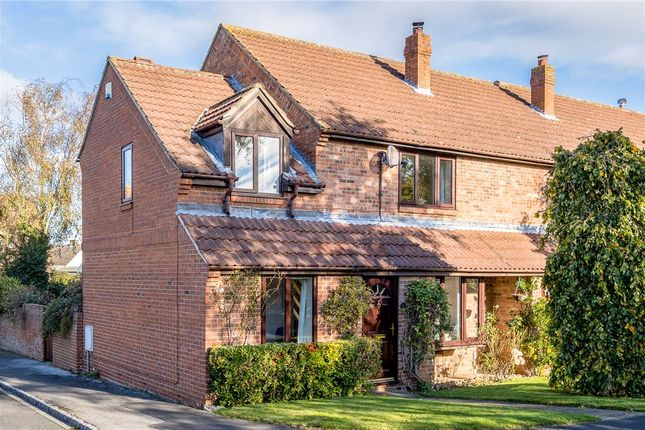 Thumbnail End terrace house for sale in Manor Park, Arkendale, Knaresborough, North Yorkshire