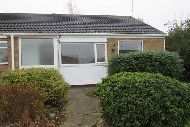 Thumbnail Terraced bungalow for sale in Walnut Way, Countesthorpe, Leicester