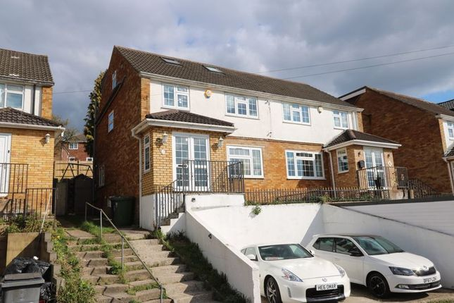 Thumbnail Semi-detached house for sale in Salisbury Road, High Wycombe