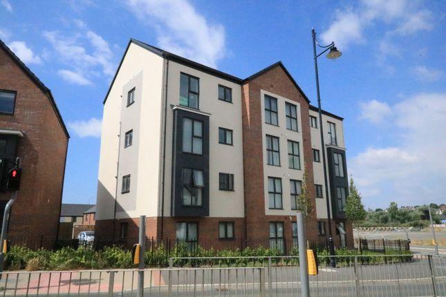Thumbnail Flat for sale in Ffordd Y Mileniwm, Barry