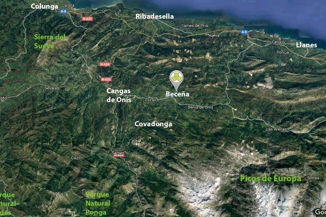 Wider Area of Beceña, Cangas De Onís, Asturias, Spain