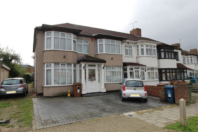 Thumbnail End terrace house to rent in Bridgewater Gardens, Edgware, Middlesex