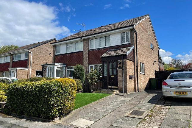 3 bed semi-detached house for sale in Portrea Close, Davenport, Stockport SK3