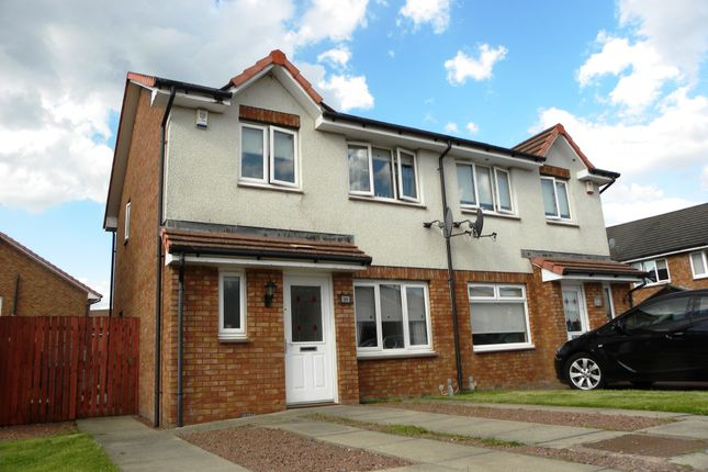 Thumbnail Semi-detached house for sale in Andrew Paton Way, Burnbank