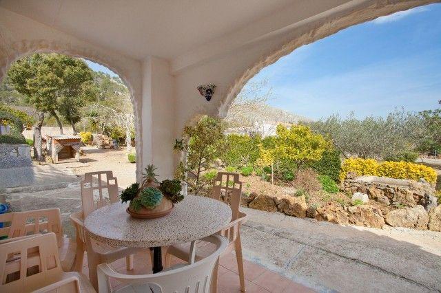 Covered Terrace of Spain, Mallorca, Pollença