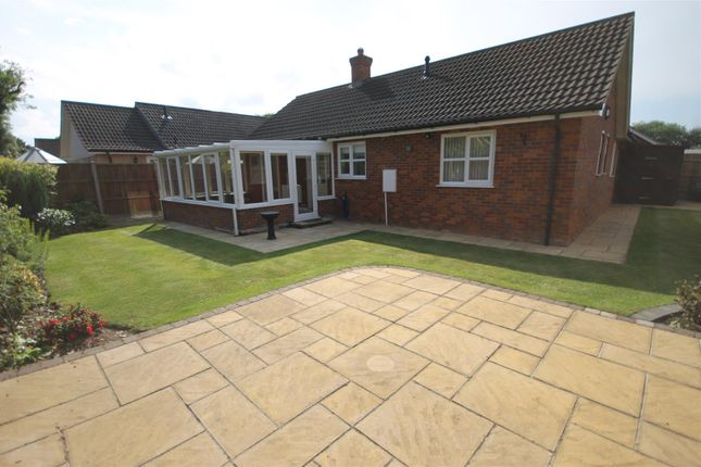 Thumbnail Detached bungalow to rent in Oakleigh Court, Attleborough
