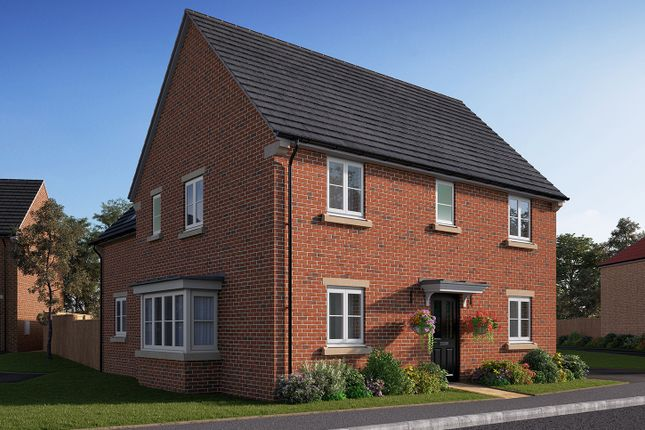 "Thumbnail Detached house for sale in ""The Lancaster"" at Station Road, Kirk Hammerton, York, Kirk Hammerton"