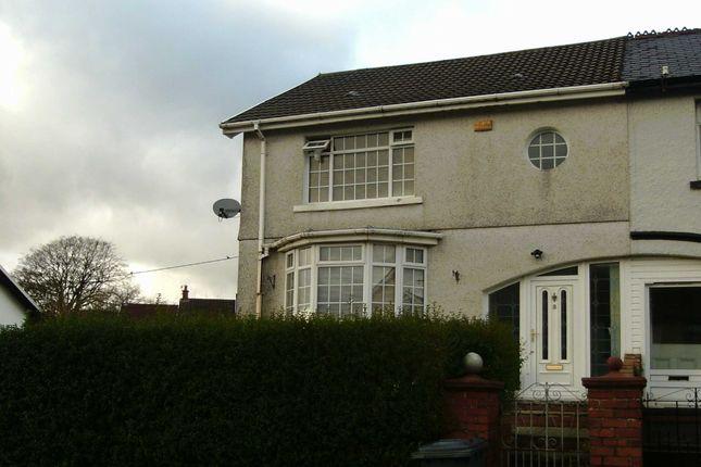 Thumbnail Semi-detached house for sale in Meyrick Villas, Merthyr Tydfil