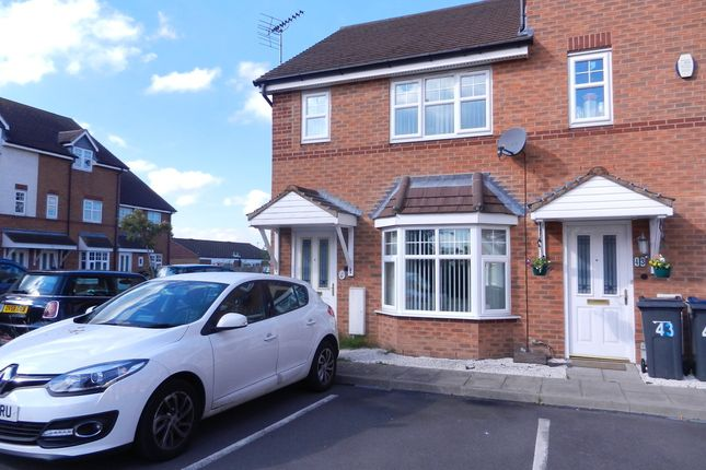 Thumbnail End terrace house to rent in Netherhouse Close, Great Barr, Birmingham