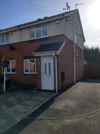 Thumbnail Semi-detached house to rent in Sandgate Avenue, Radcliffe, Manchester