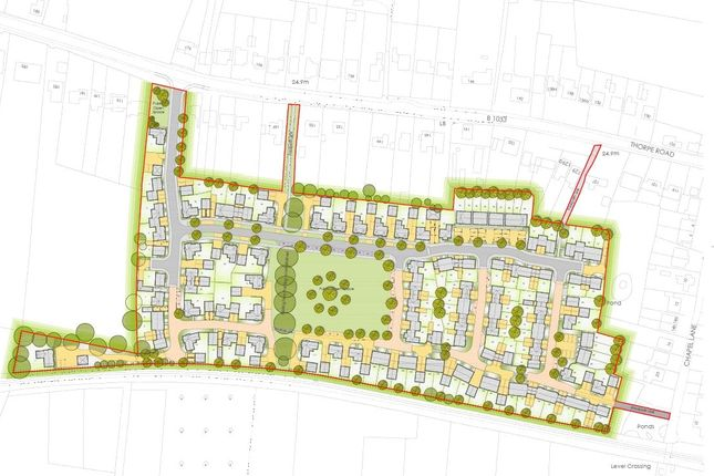 Thumbnail Land for sale in Thorpe Road, Kirby Cross, Frinton-On-Sea, Essex