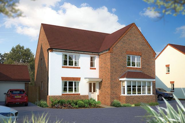 "Thumbnail Detached house for sale in ""The Arundel"" at Beancroft Road, Marston Moretaine, Bedford"