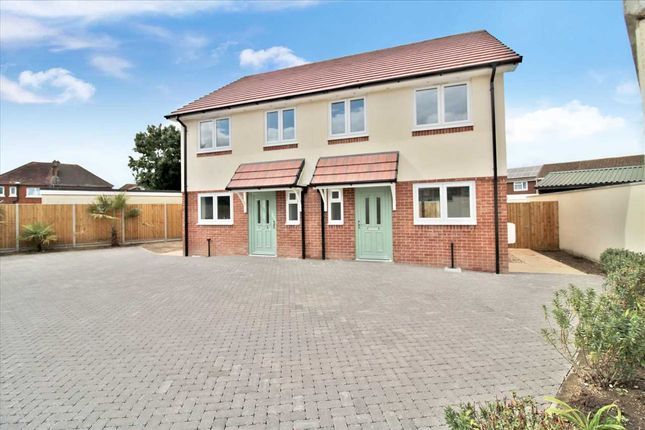Thumbnail Semi-detached house for sale in Rodwell Close, Kinson, Bournemouth