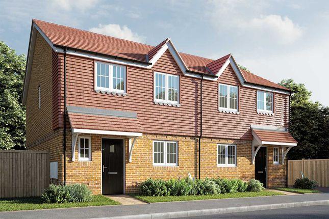 "Thumbnail Semi-detached house for sale in ""The Elmslie"" at Berengrave Lane, Rainham, Gillingham"