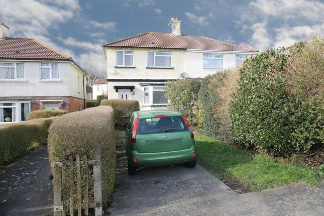 Thumbnail Semi-detached house for sale in Beacon Park Road, Plymouth
