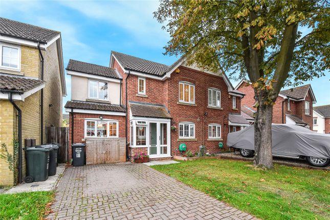 Thumbnail Semi-detached house for sale in The Green, Darenth Village Park, Dartford, Kent