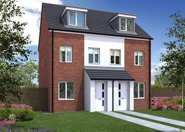 """Thumbnail Semi-detached house for sale in """"The Souter Contemporary"""" at Tees Road, Hartlepool"""