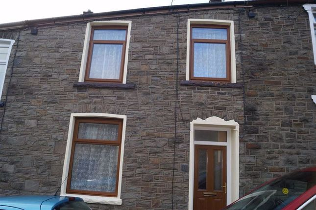 Thumbnail Terraced house for sale in Mount Pleasant Terrace, Mountain Ash