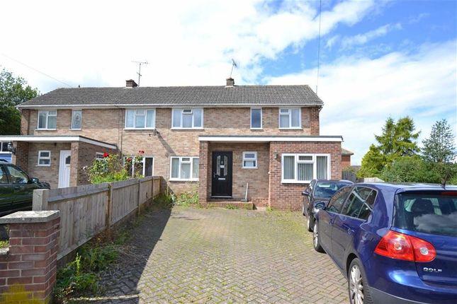 Thumbnail Semi-detached house for sale in Mount Close, Newbury, Berkshire