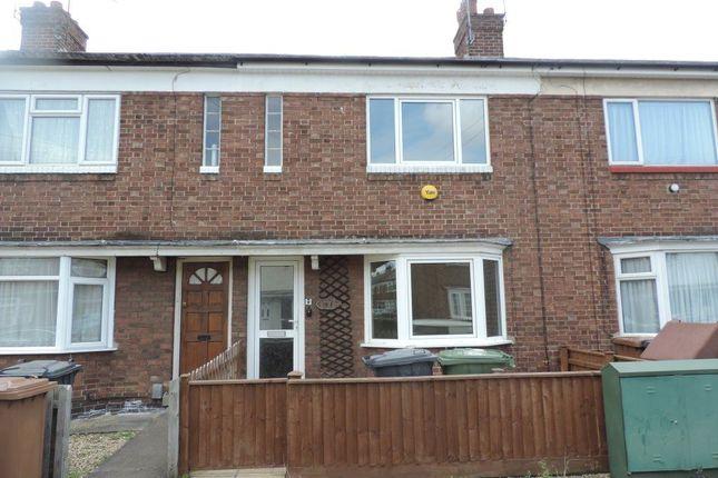 Thumbnail Terraced house to rent in Montagu Road, Walton, Peterborough