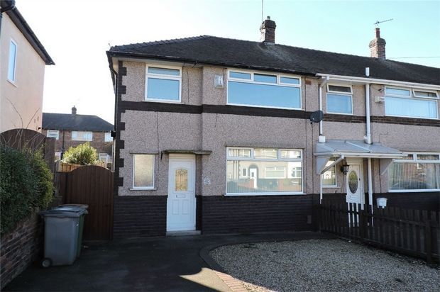 Thumbnail Semi-detached house to rent in Fairway North, Bromborough, Wirral