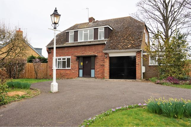 Thumbnail Detached house to rent in Sapley Road, Huntingdon