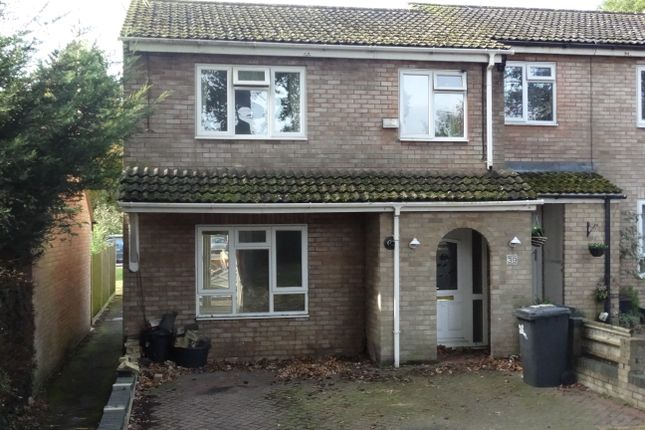 Thumbnail End terrace house for sale in Holt Way, Hook