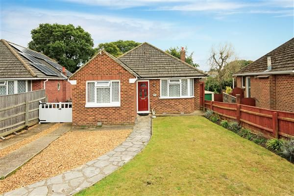 Thumbnail Bungalow for sale in Hull Crescent, Bournemouth