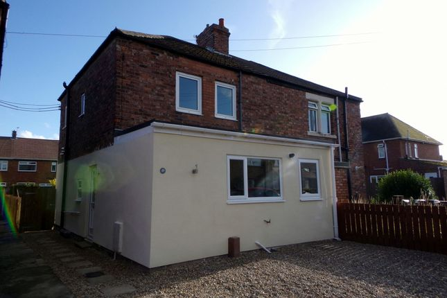 Thumbnail Semi-detached house for sale in Hartford Crescent, Bedlington