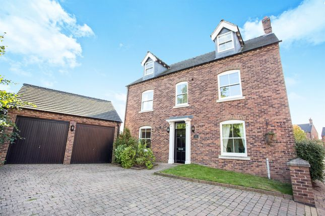 Thumbnail Detached house for sale in Hillcrest, Aston-On-Trent, Derby