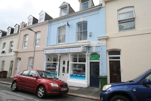 Thumbnail Flat to rent in Benbow Street, Stoke, Plymouth