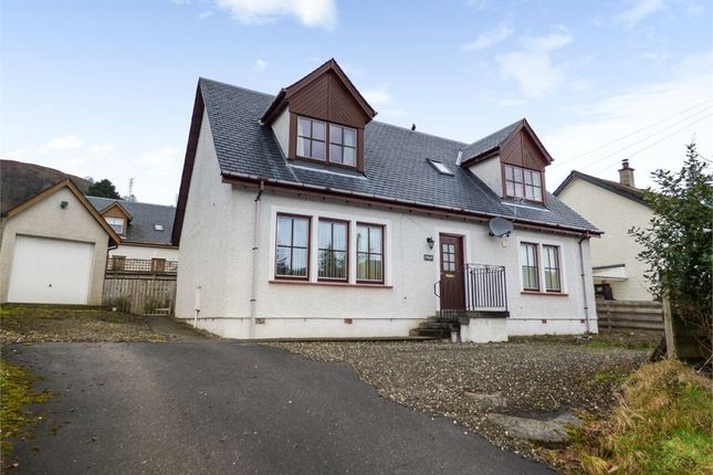 Thumbnail Detached house for sale in Monemore, Killin, Stirling