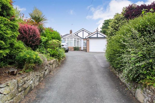 Thumbnail Detached bungalow for sale in Top Street, Whittington, Oswestry
