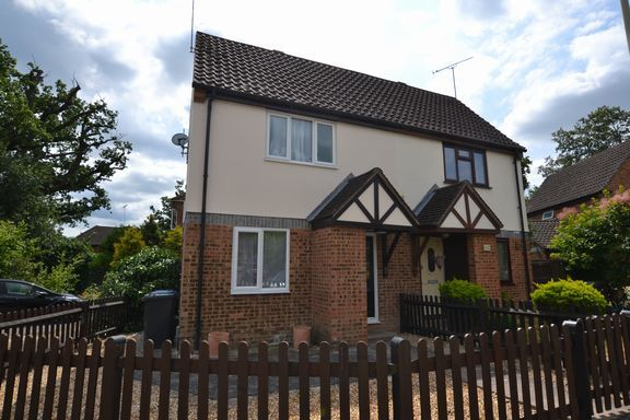 Thumbnail Terraced house to rent in Angora Way, Fleet