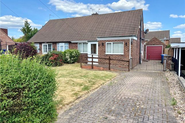 Thumbnail Semi-detached bungalow to rent in Bonsall Drive, Mickleover, Derby