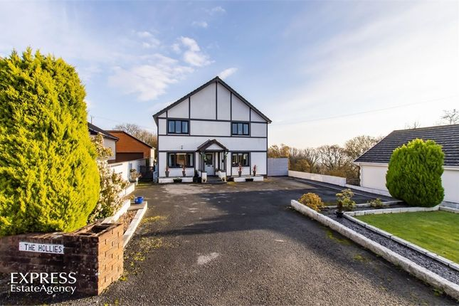 Thumbnail Detached house for sale in Maes Y Bont Road, Gorslas, Llanelli, Carmarthenshire