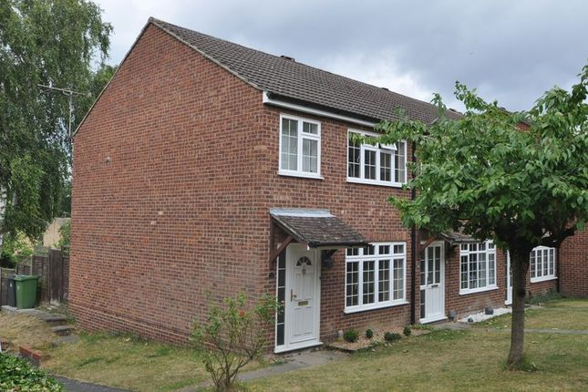 Thumbnail Terraced house to rent in Conway Close, Frimley, Camberley