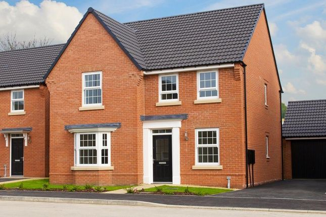"Thumbnail Detached house for sale in ""Holden"" at Newton Lane, Wigston"