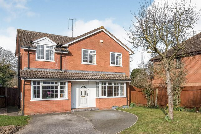 Thumbnail Detached house for sale in The Brickfields, Stowmarket