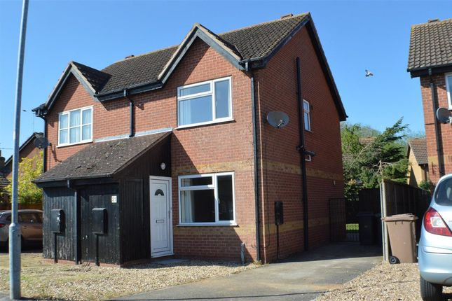 Thumbnail Semi-detached house to rent in Westbeck, Ruskington, Sleaford
