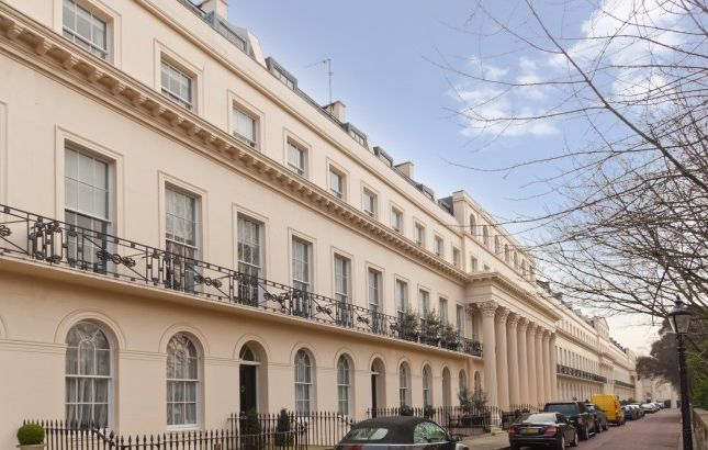 Thumbnail Flat to rent in Chester Terrace, London