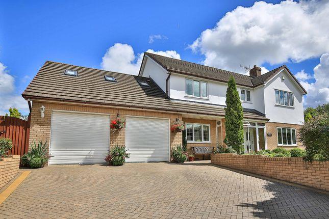 Thumbnail Detached house for sale in Gellideg Lane, Maesycwmmer, Hengoed