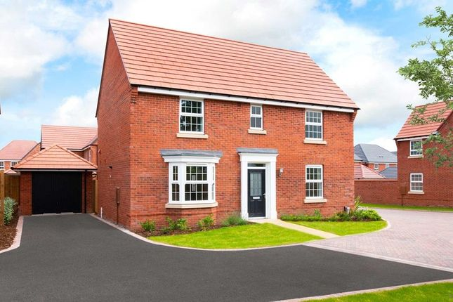 "Thumbnail Detached house for sale in ""Layton"" at Fleckney Road, Kibworth, Leicester"