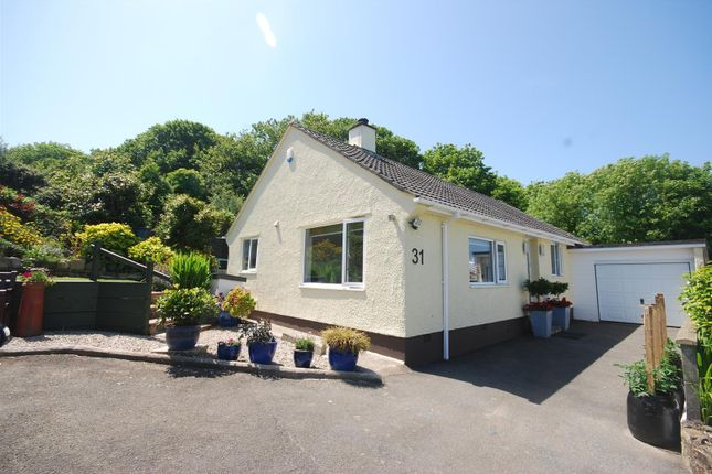 Thumbnail Detached bungalow for sale in St. Golder Road, Newlyn, Penzance